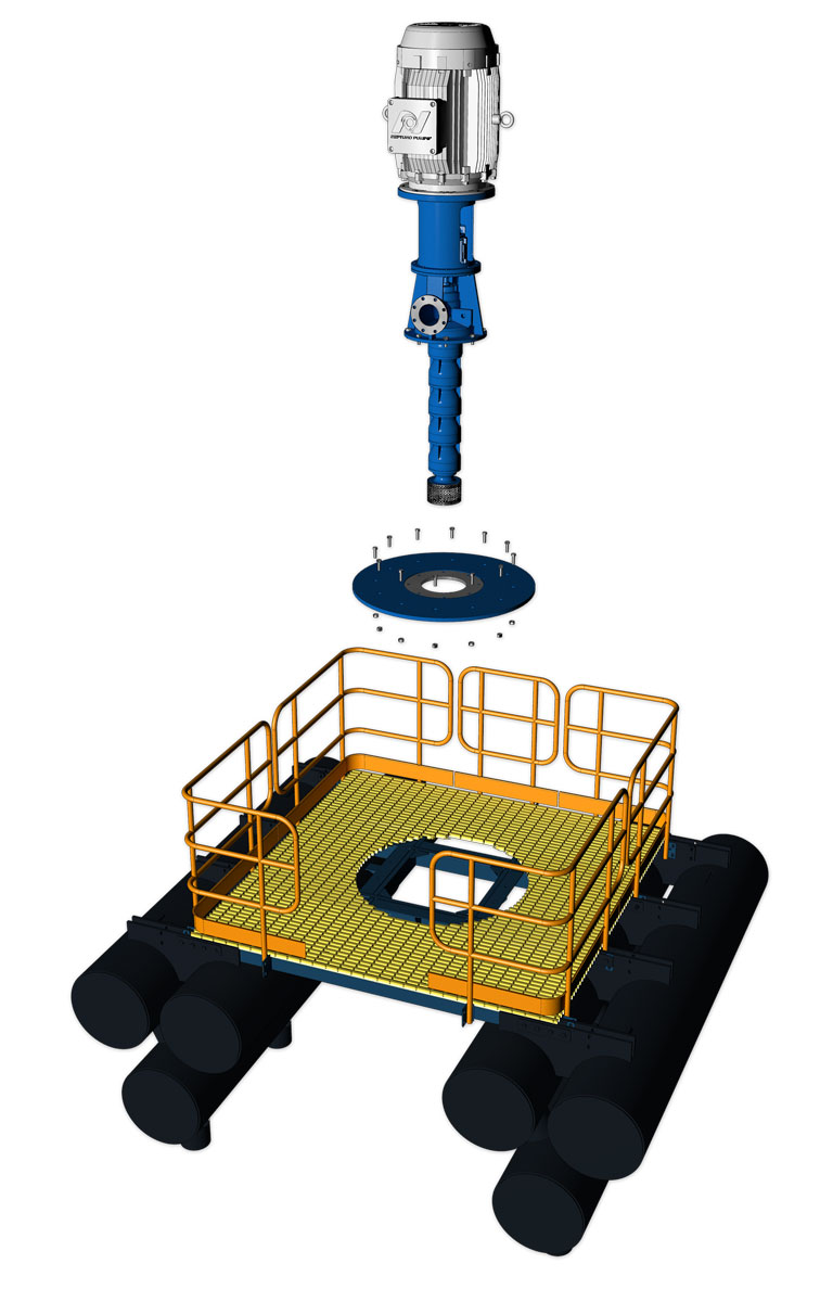 Neptuno Barge Pump System™ - Neptuno-Pumps®
